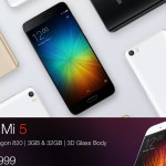 Xiaomi Mi 5 Comes to Amazon – Buy Mi5 From Amazon.in