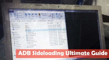 Android ADB Sideloading  – Install & Update ROMs