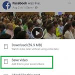 Download Facebook Video Using Chrome For Android