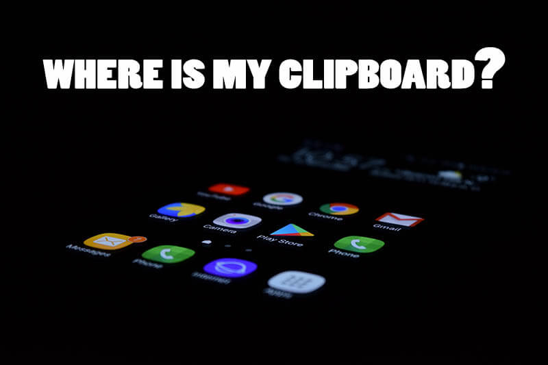 clipboard folder in android